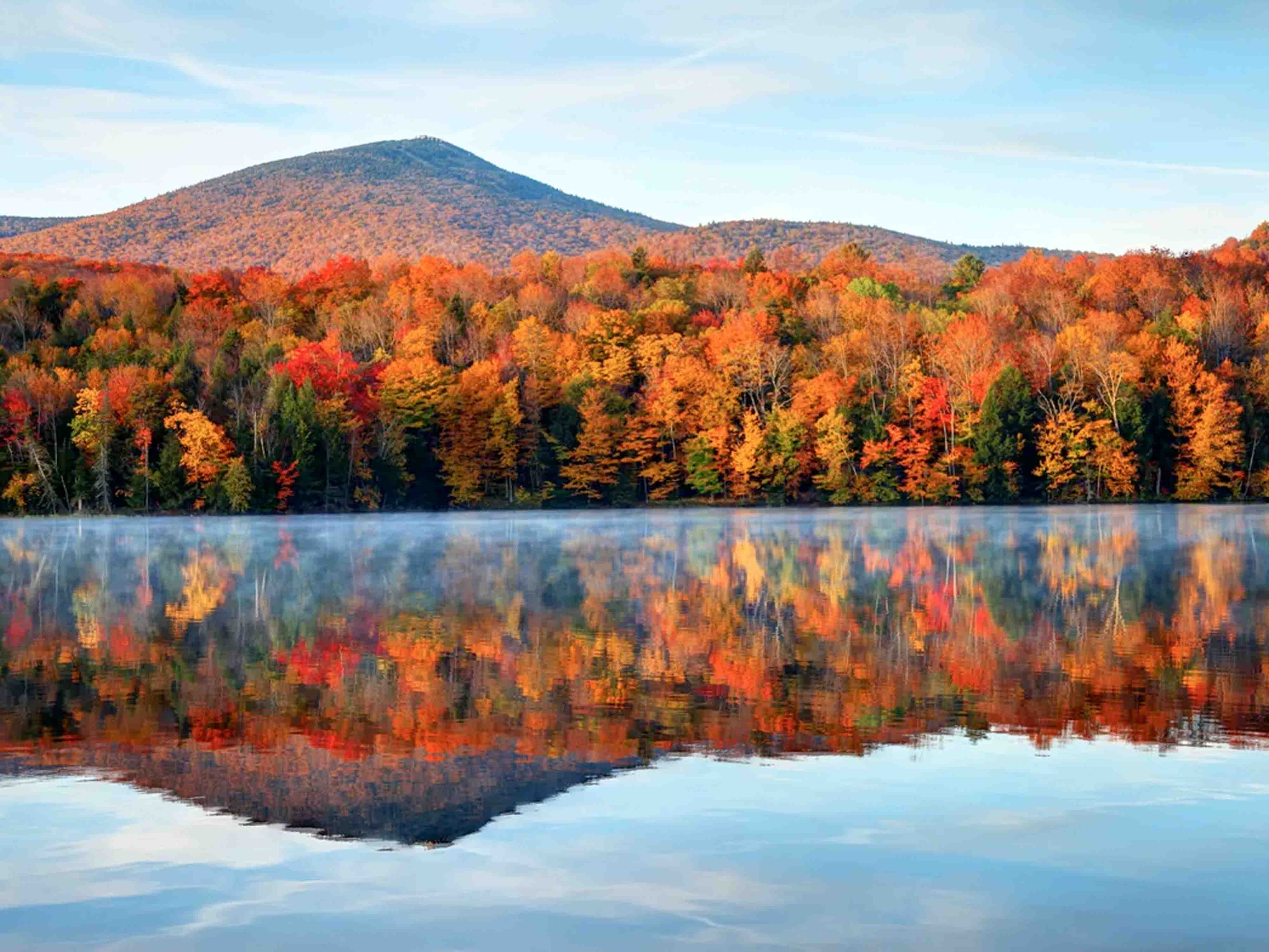 New England Fall Foliage Tours 2020.New England S Fall Foliage Tour Gte07 Great Train Escapes